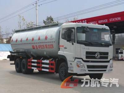 东风天锦30吨粉粒物料运输车