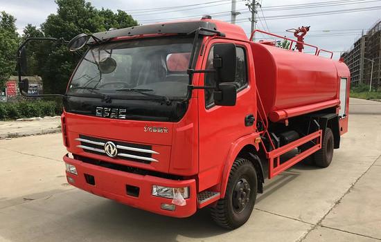 东风8吨消防洒水车锡柴143马力