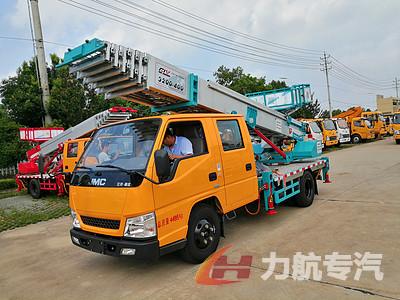 江铃32米云梯高空作业车