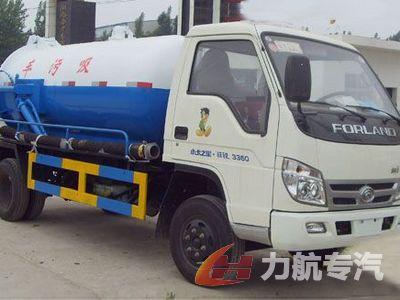 福田轻型6吨吸污车
