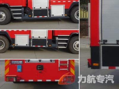 五十铃后双桥水罐消防车图片