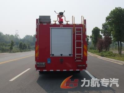 东风专底6吨水罐消防车图片