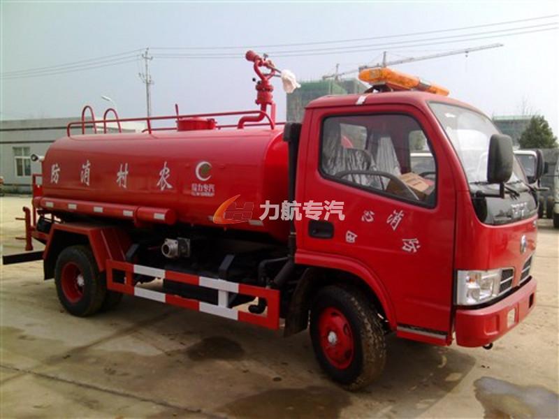 福田时代4吨消防车图片