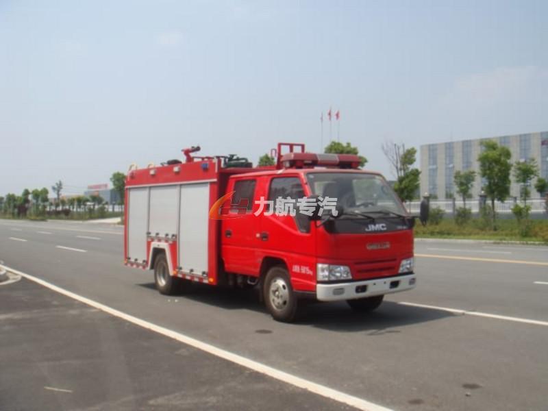 江铃顺达水罐消防车图片
