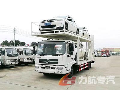 东风天锦单桥中置轴轿运车图片