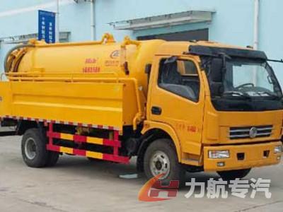 东风大多利卡水罐2.5吨污水罐4吨清洗吸污车