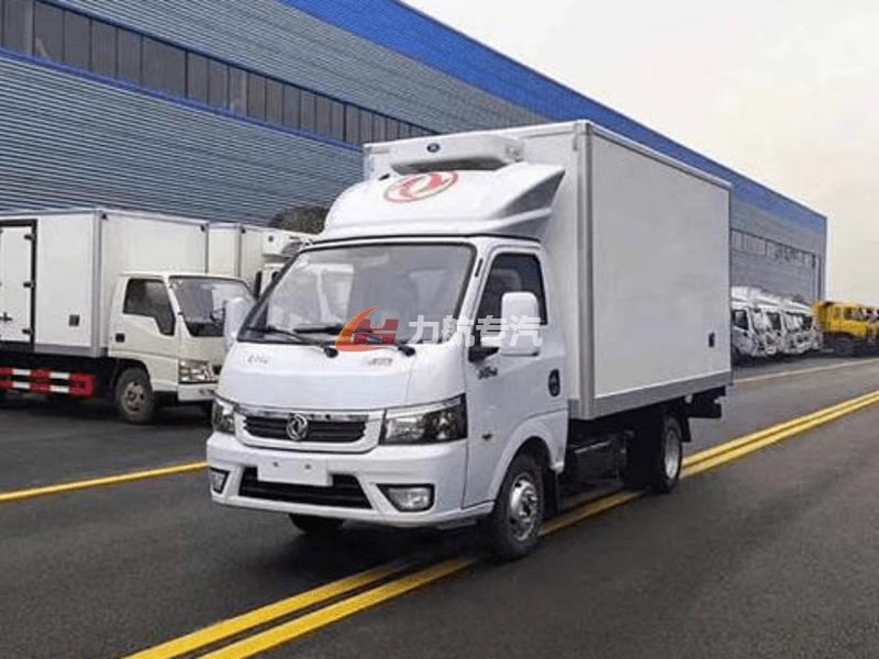 国六东风途逸冷藏车图片