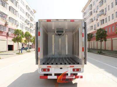 长安箱式冷藏车图片
