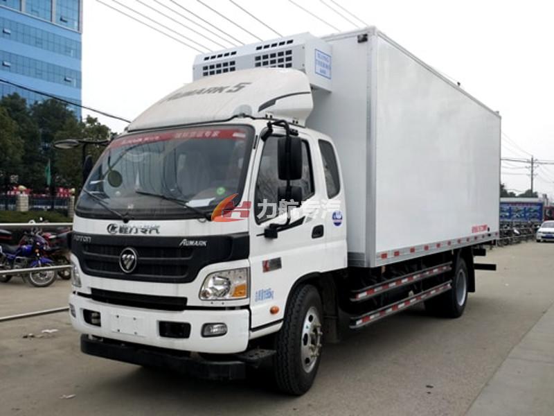 福田欧马可国六蓝牌4米2冷藏车价格图片