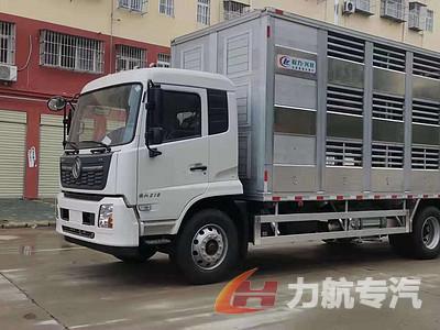 东风天锦铝合金畜禽运输车图片