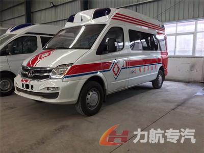 上汽大通米高蓝监护型救护车图片