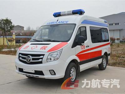 福田图雅洛救护车图片