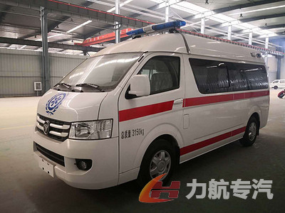 福田G7监护型救护车图片