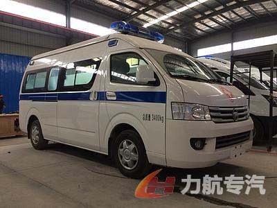 福田G9监护型救护车图片