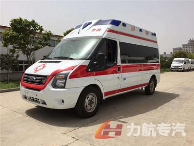 福特新世代福星顶救护车图片
