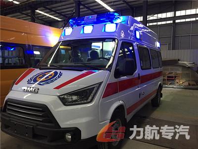 江铃特顺福星顶监护型救护车图片