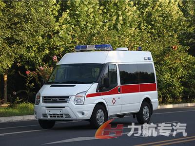 福特新世代短轴监护型救护车图片