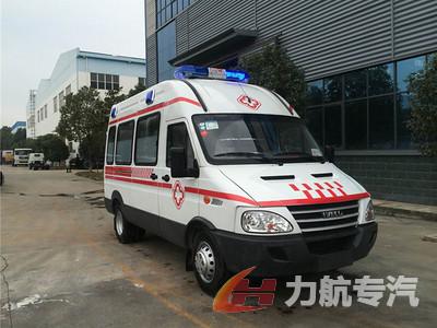 依维柯监护型救护车图片图片