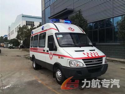 依维柯宝迪A35救护车图片