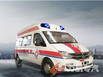 上汽大通监护型救护车