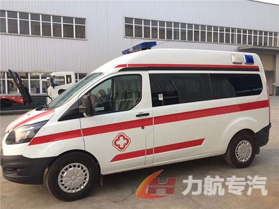 V362工字型警灯救护车图片