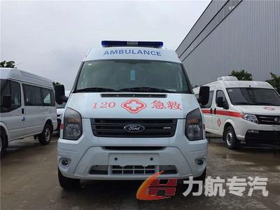 福特工字型救护车图片