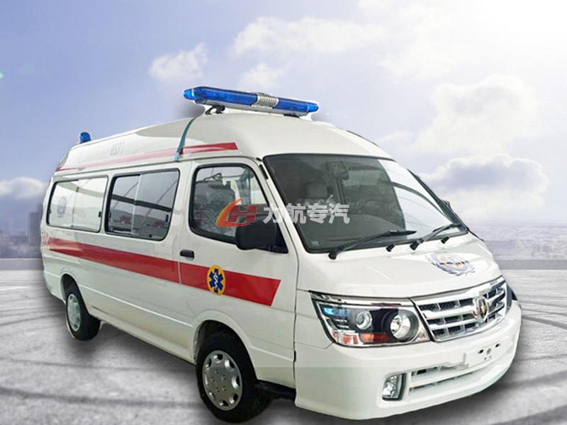 金杯小海狮救护车图片