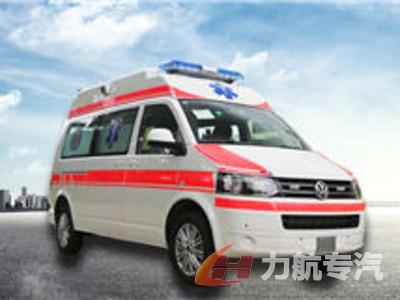 大众凯路威监护型救护车图片