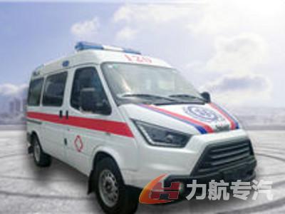江铃特顺救护车图片