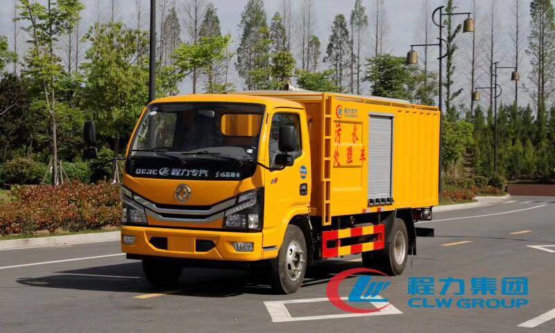 吸污净化处理车常见配置和主要功能说明