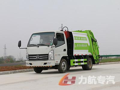 国六凯马4方压缩式垃圾车参数配置表图片