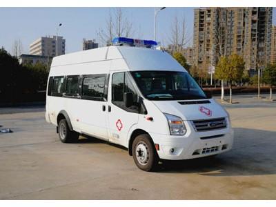 新全顺中轴中顶救护车,短轴低顶普通型救护车的配置