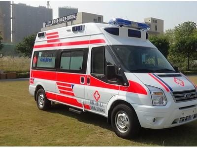 国六新款福特V348救护车厂家直销