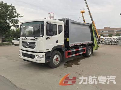 东风D9国六10吨压缩垃圾车