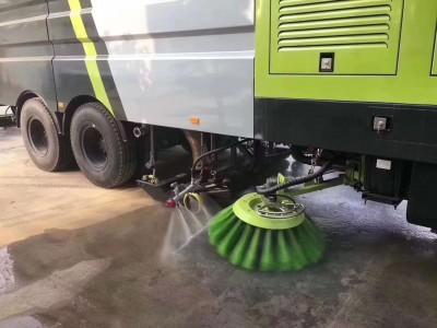 街道清洁适合什么样的洗扫车