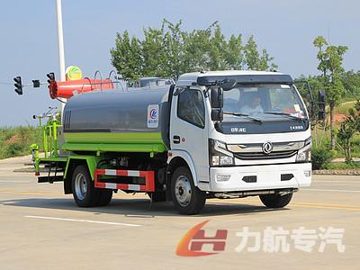 国六东风9吨喷雾洒水车