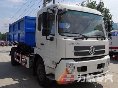 国六东风天锦12方勾臂垃圾车