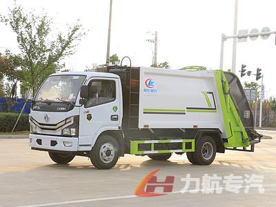 国六6方压缩垃圾车-东风后装式垃圾车厂家价格多少钱