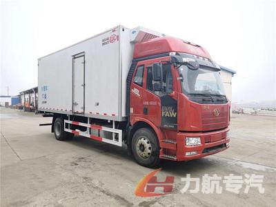 解放J6L 6.8米冷藏车图片