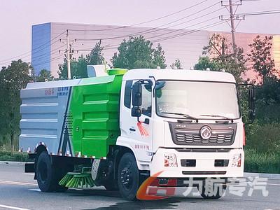 国六东风天锦12吨扫路车多少钱-力航汽车网
