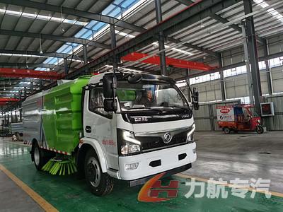 国六东风系列福瑞卡洗扫车生产厂家价格-力航汽车网