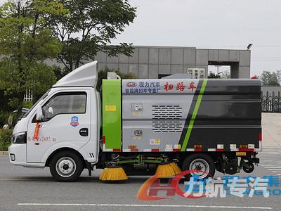 国六东风途逸小型扫路车价格-力航汽车网