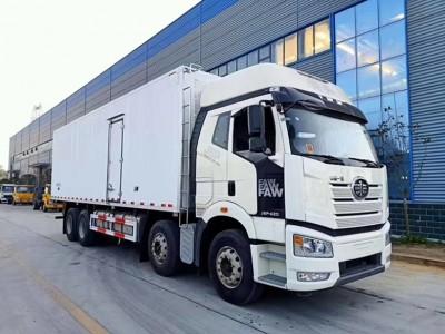 国五解放J6P  420马力冷藏车