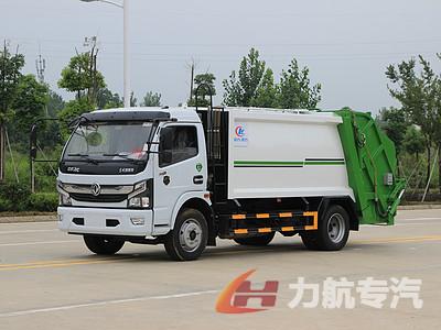 国六东风天锦14方压缩式垃圾车厂家直销