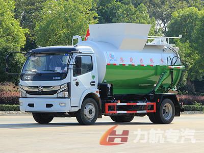 国六东风6-14方餐厨垃圾车厂家直销-力航汽车网