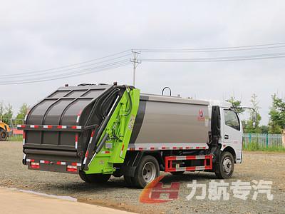 东风大福瑞卡8方压缩垃圾车推荐视频图片
