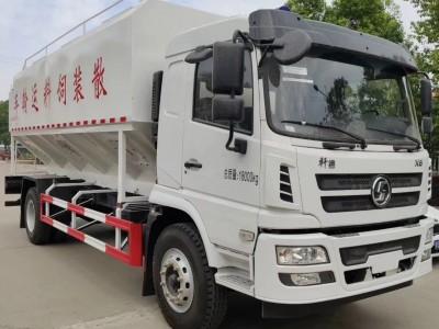 陕汽轩德10吨饲料车运输车多少钱