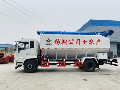 22方东风天锦散装饲料车厂家促销
