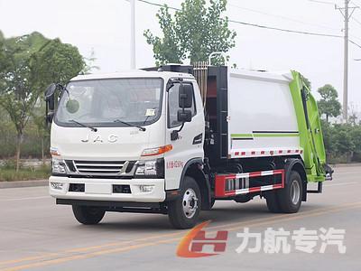 江淮骏铃V7八方压缩式垃圾车(国六)