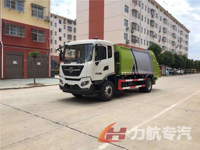 国六东风天锦14方压缩式垃圾车价格-力航汽车网